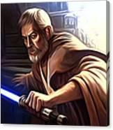 Jedi Star Wars Art Canvas Print