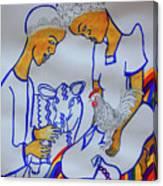 Kintu And Nambi A Ugandan Folktale Canvas Print