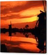 M N Landscape Canvas Print