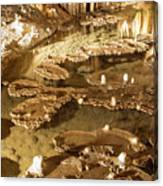 Onondaga Cave Formations Canvas Print