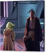 Original Star Wars Poster Canvas Print