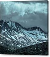 Rocky Mountains Nature Scenes On Alaska British Columbia Border Canvas Print