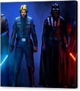 Star Wars 3 Poster Canvas Print