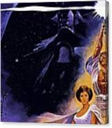 Star Wars Poster Art Canvas Print