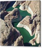 Tributary To Lake Powell Canvas Print