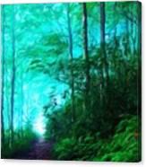 Nature Landscape Oil Canvas Print