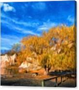 Nature Landscape Paintings Canvas Print