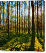 Nature Scenery Oil Paintings On Canvas Canvas Print