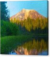 Nature Landscape Paintings Canvas Print
