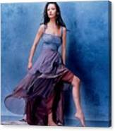 1576 Celebrity Catherine Zeta Jones  Canvas Print