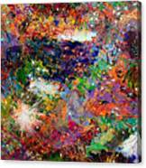 16-3 Red Space Canvas Print