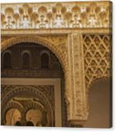Alcazar Of Seville - Seville Spain Canvas Print