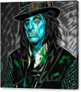 Alice Cooper Collection Canvas Print