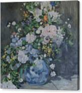 homage to Renoir Canvas Print