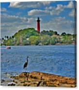 16- Jupiter Lighthouse Canvas Print