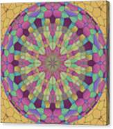Mandala Ornament Canvas Print