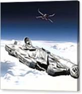 New Star Wars Poster Canvas Print