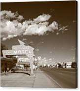 Route 66 - Tucumcari New Mexico Canvas Print