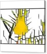 Swan Plant Canvas Print
