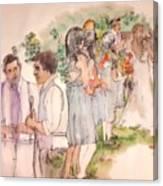 The Wedding Album  Canvas Print