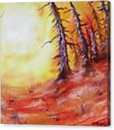 16 Trees Canvas Print