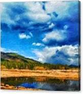 Landscape Painted Canvas Print