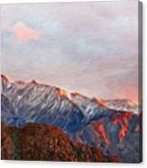 Landscape Paintings Nature Canvas Print