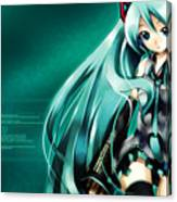 16291 1 Other Anime Vocaloid Hatsune Miku Vocaloid Hatsune Miku Canvas Print