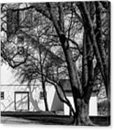 169 Marshfield Wisconsin Farm B W Canvas Print