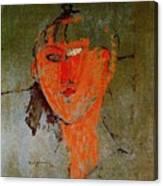 16937 Amedeo Modigliani Canvas Print