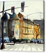 16th Street Nw Dc Canvas Print