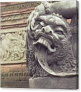 Bali Sculpture Canvas Print