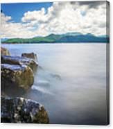 Beautiful Landscape Scenes At Lake Jocassee South Carolina Canvas Print