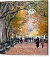 Poets Walk Canvas Print