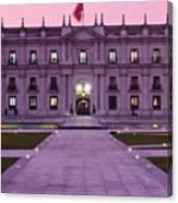 Santiago De Chile Canvas Print