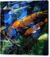 The Koi Pond Canvas Print