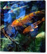 The Koi Pond Canvas Print