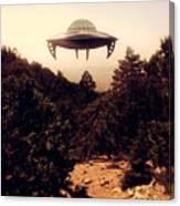 Ufo Sighting Canvas Print