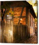 1700s House Old Salem Canvas Print