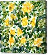 Divine Flowers Canvas Print