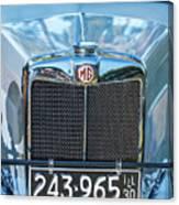 1743.040 1930 Mg Classic Car Canvas Print
