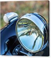 1743.0421930 Mg Headlight Canvas Print
