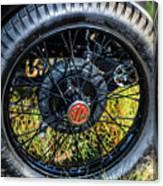 1743.051 1930 Mg Wheel Canvas Print