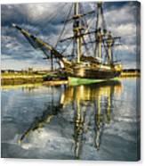 1797 Trading Ship Replica - Friendship Of Salem Canvas Print
