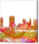 Columbus Ohio Skyline Canvas Print