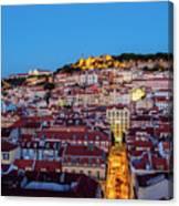 Lisbon, Portugal Canvas Print