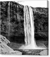 Seljalandsfoss Waterfall Iceland Canvas Print