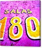 180 Santiago Pinked  Canvas Print