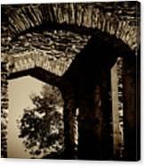 1833 Ruins Canvas Print