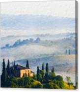 Nature Landscape Oil Canvas Print